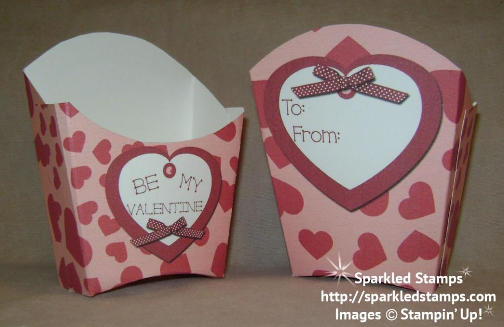 Free Printable Valentine Treat Boxes